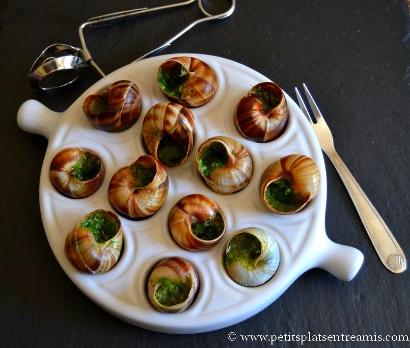 escargots au beurre persill petits plats entre amis