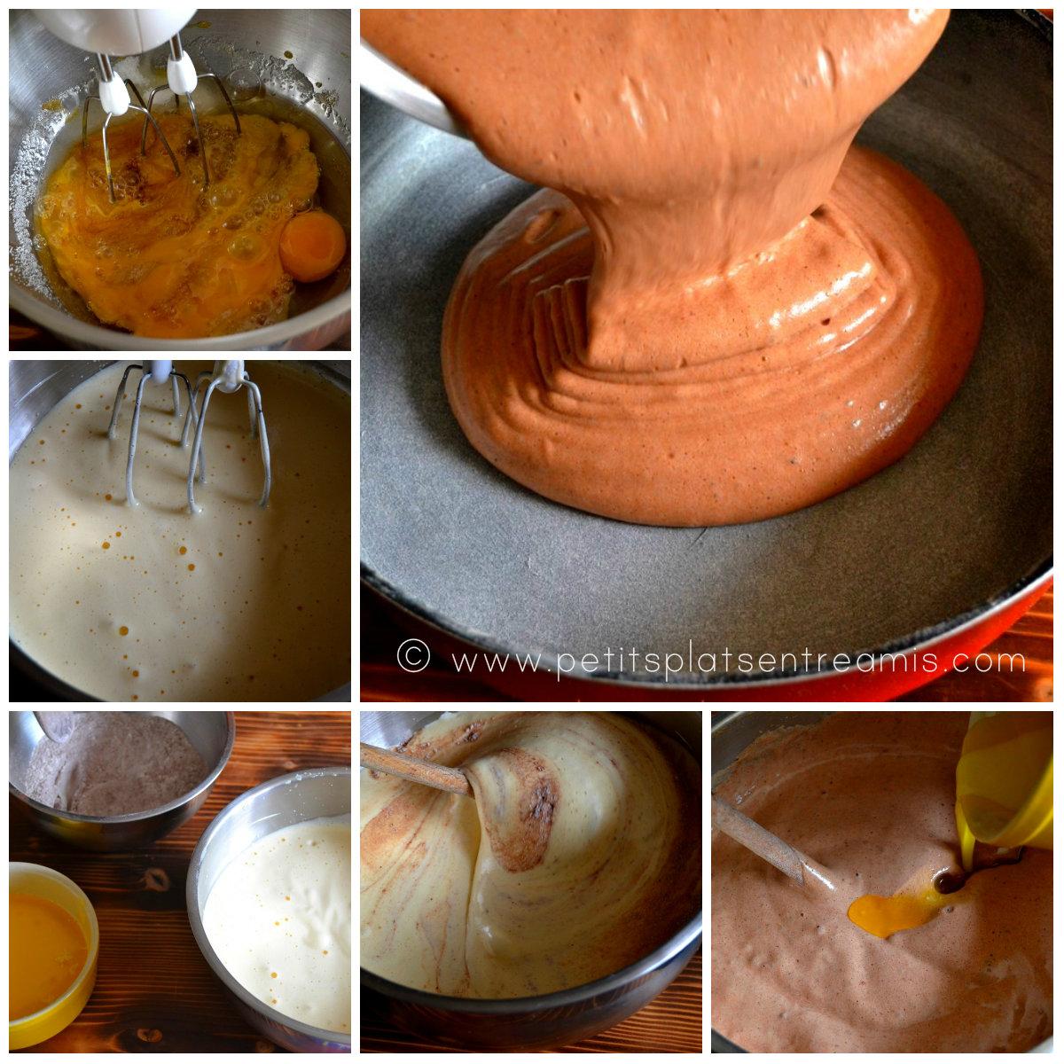 préparation pâte à forêt noire