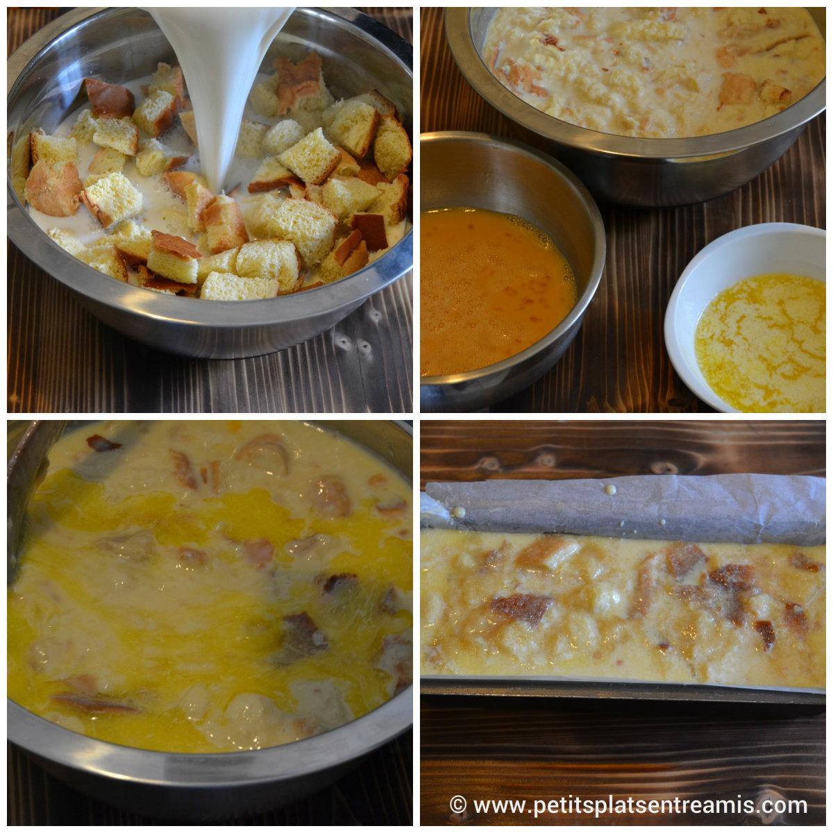 préparation pudding