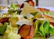 Salade César – Caesar salad