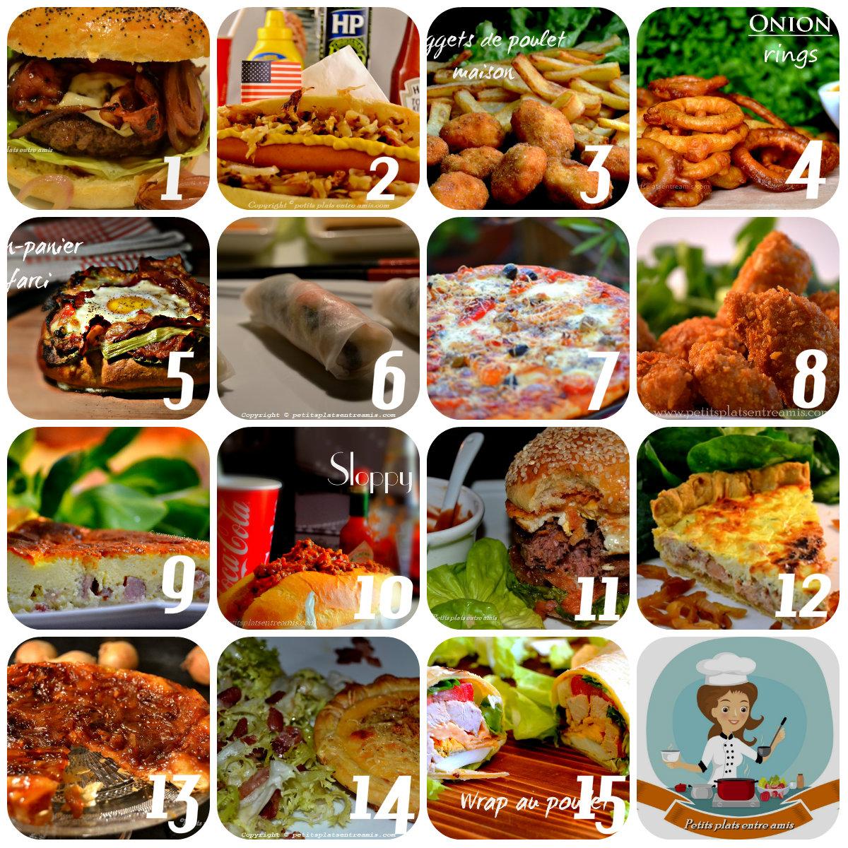 Top 15 des recettes spéciales tv