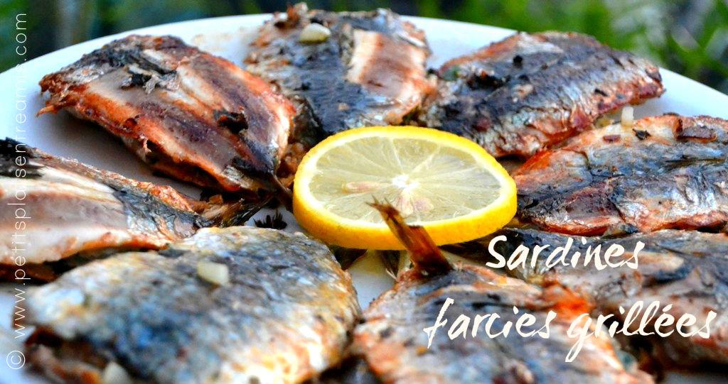 Sardines farcies grillées
