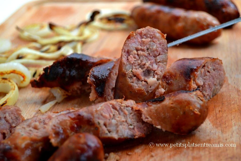 Tranches de saucisses campagnardes