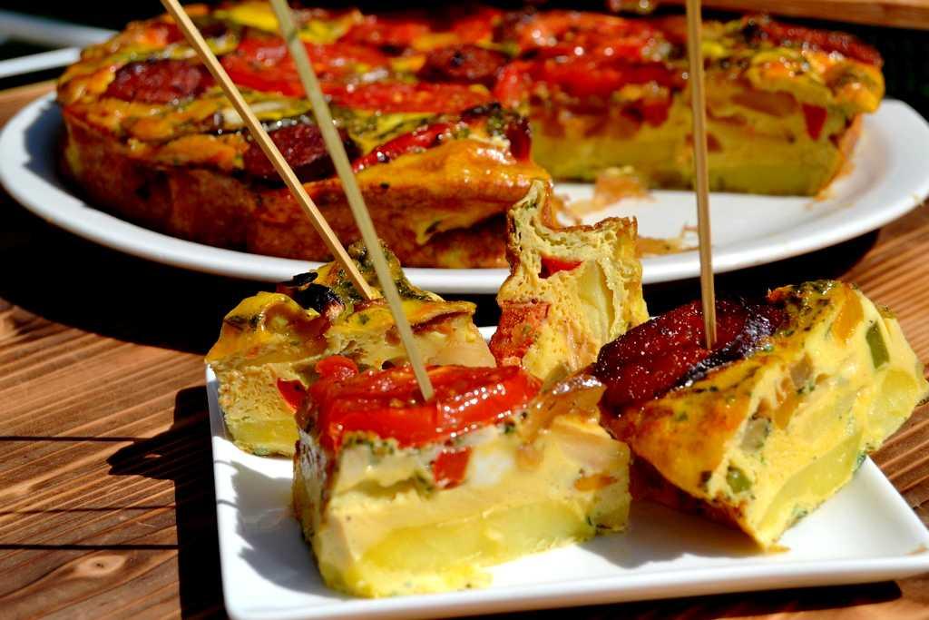 bouchées de tortilla