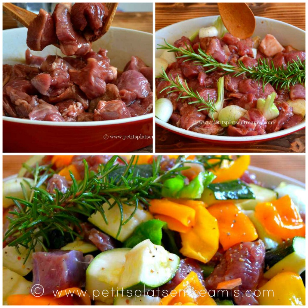 marinade pour brochettes d'agneau