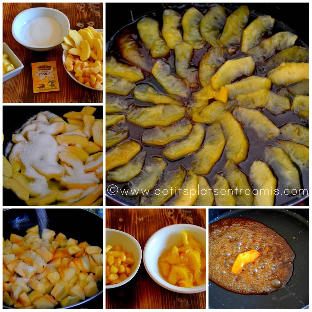 cuisson pommes caramélisées