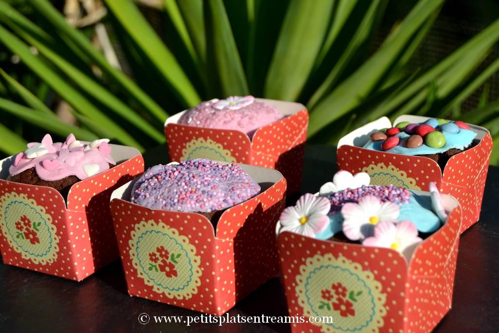 cupcakes en caissettes