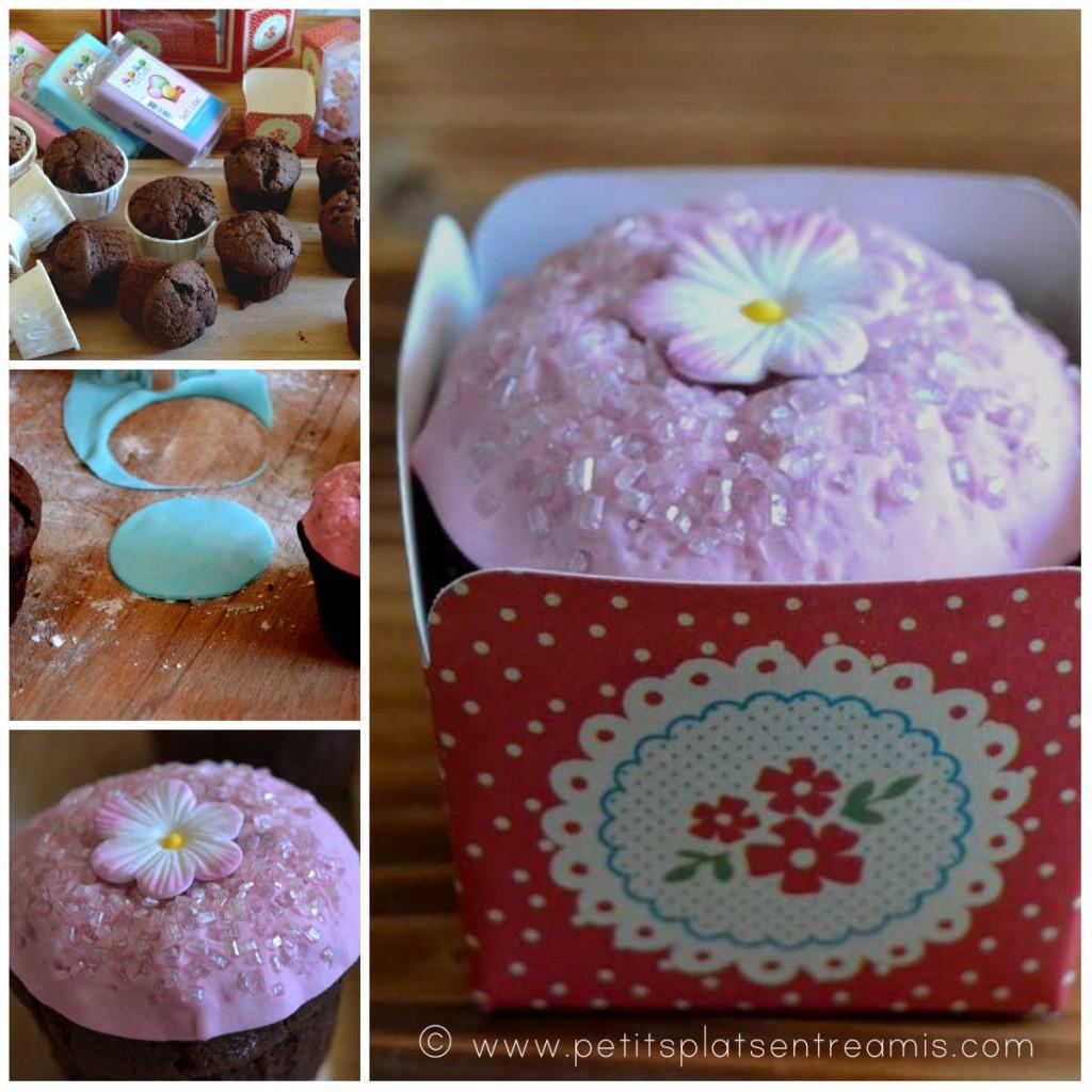 décoration cupcakes