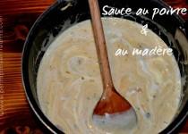 Sauce au poivre et au madère