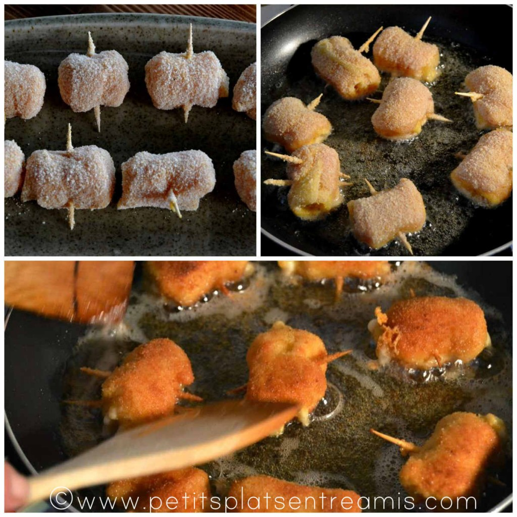 cuisson des roulés de filets de dinde