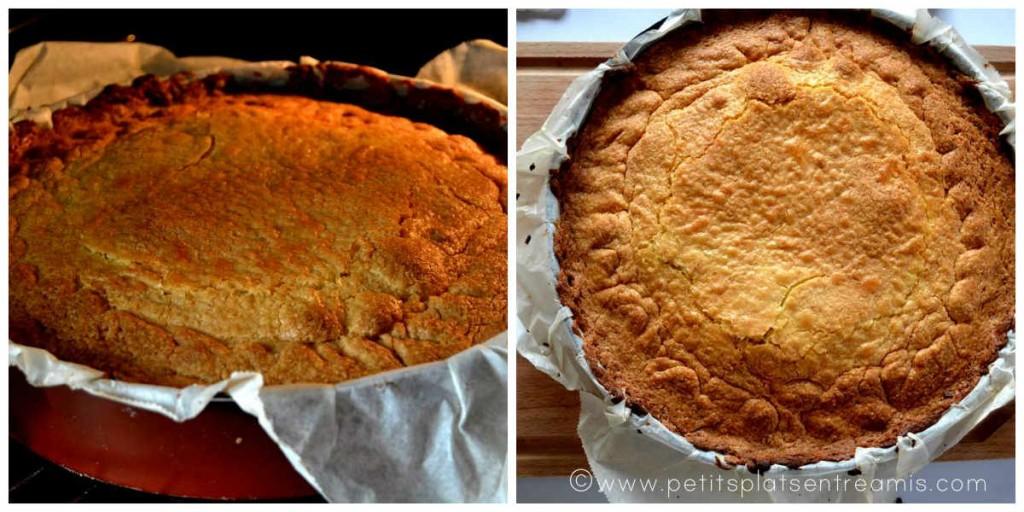 cuisson gâteau basque