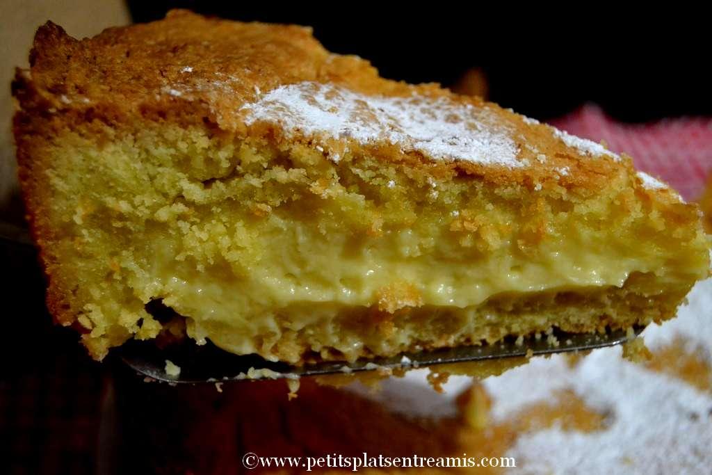 part de gâteau basque
