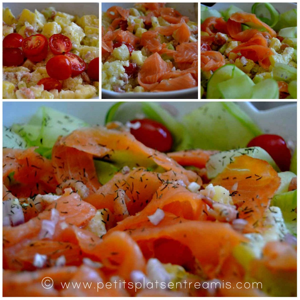 salade pomme de terre terminée