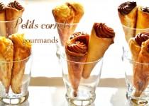 Petits cornets gourmands