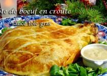 C te de boeuf en cro te sauce foie gras petits plats entre amis - Duree cuisson cote de boeuf ...