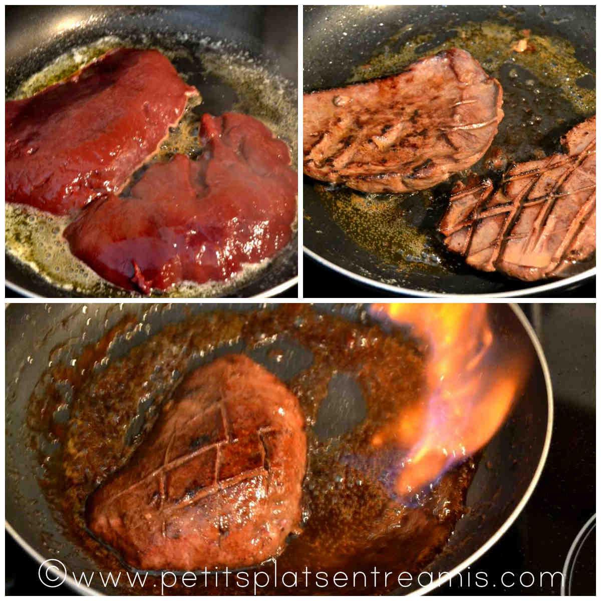 cuisson du foie de veau