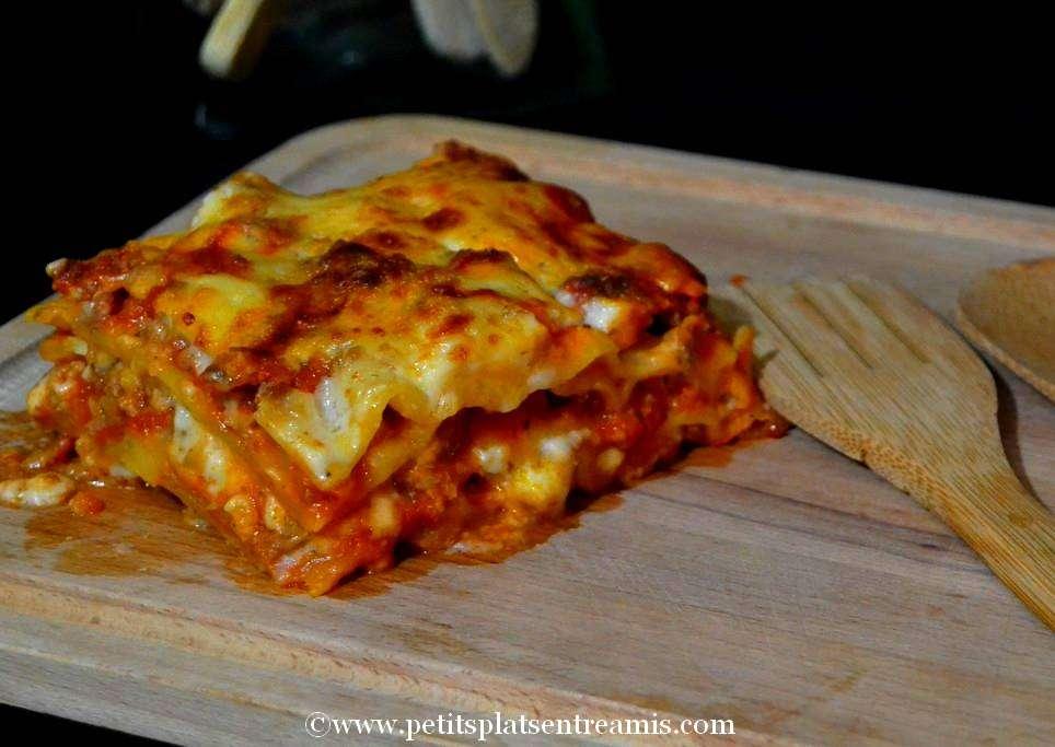 part de lasagnes