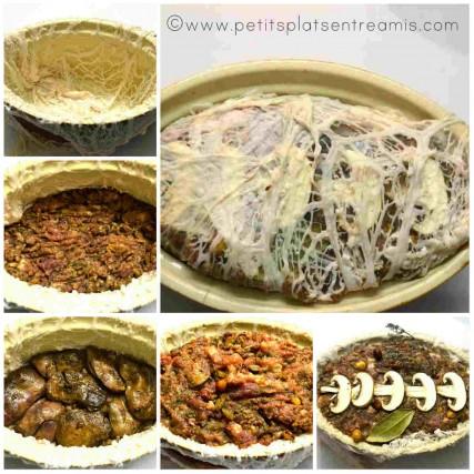 terrine de foies de volailles avant cuisson