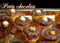 Petits chocolats pralinés