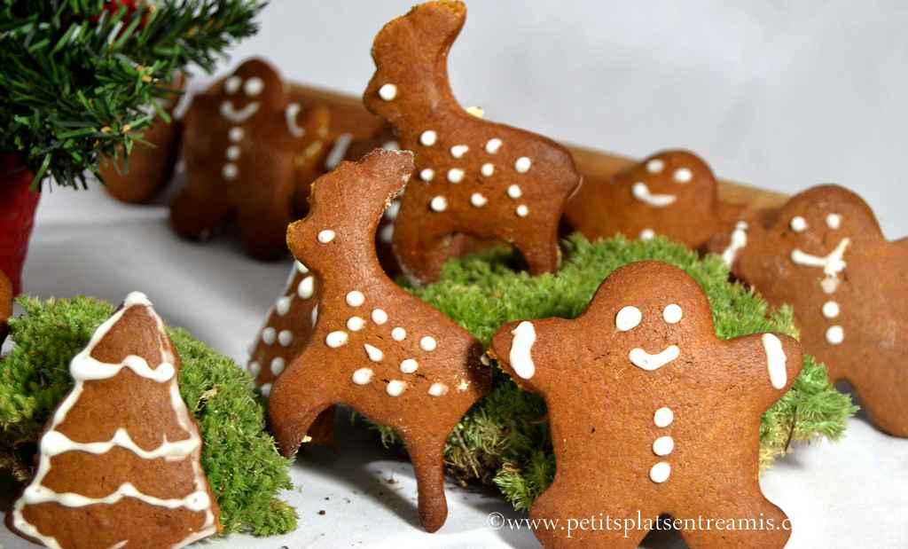 biscuits de Noël en décors