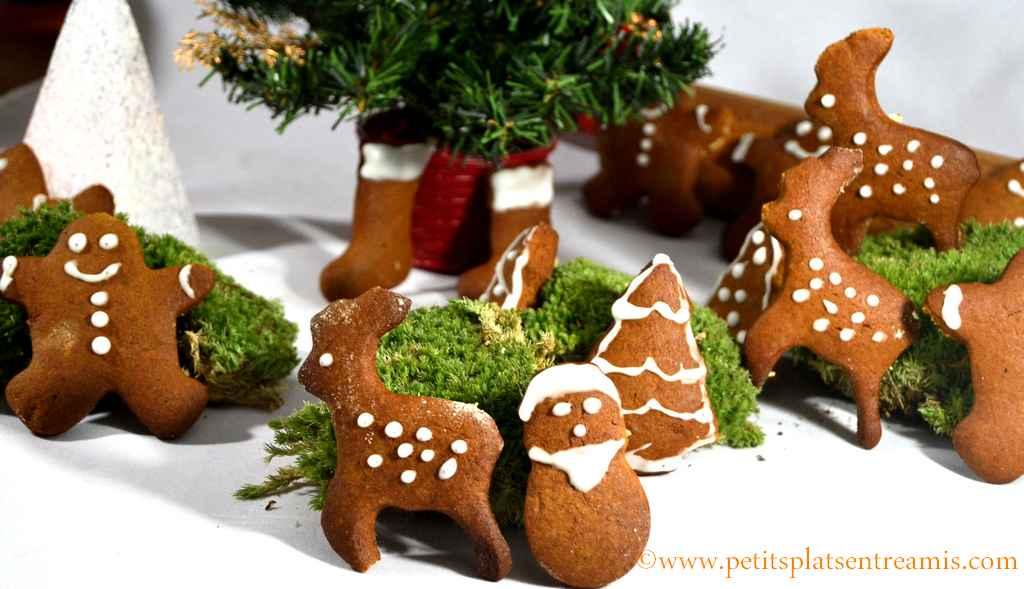 décors de biscuits de Noël à la cannelle