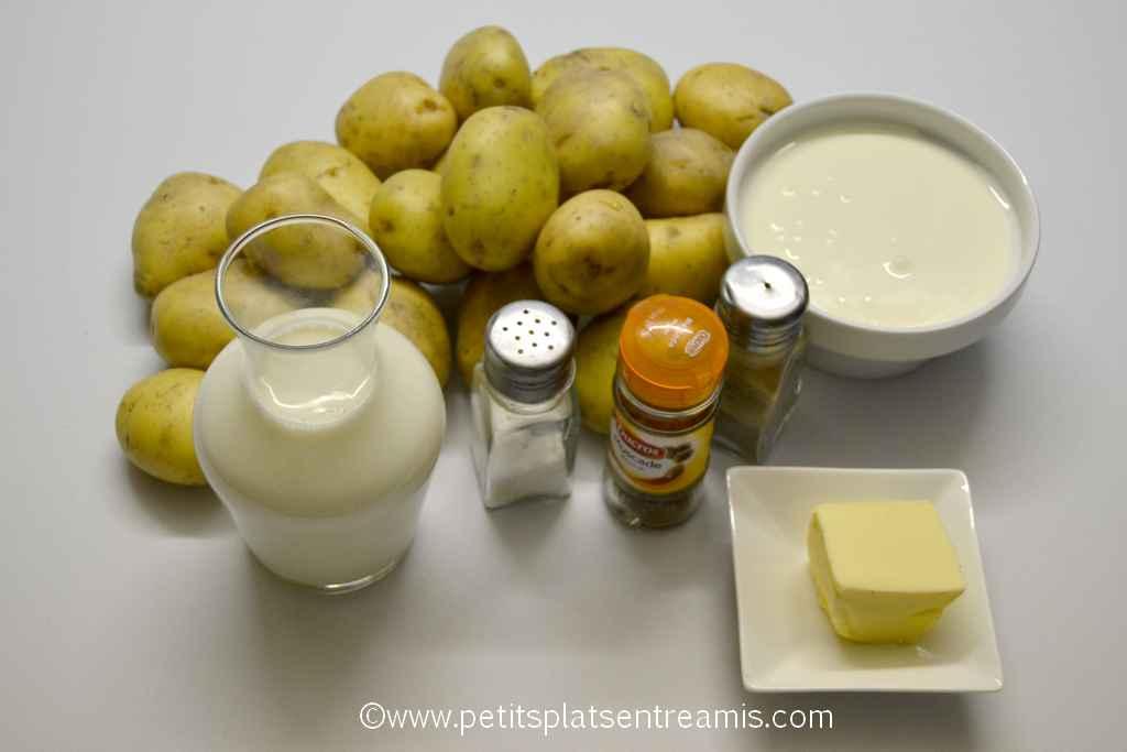 ingrédients pour gratin dauphinois