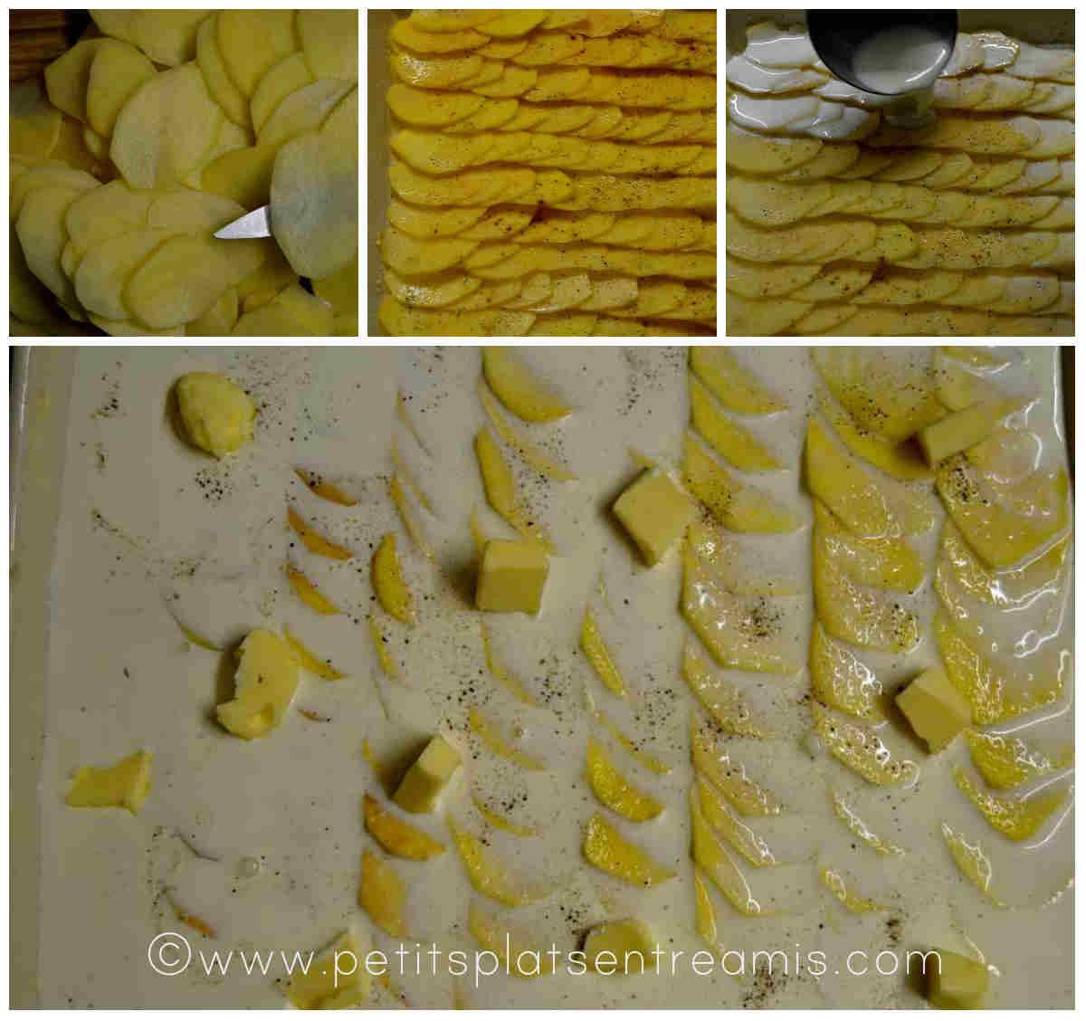 préparation gratin dauphinois