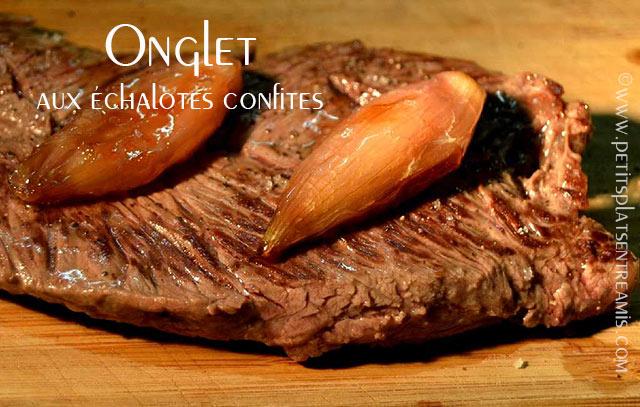 Onglet-aux-échalotes-confites