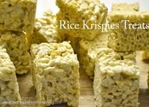 La recette américaine des Rice Krispies Treats