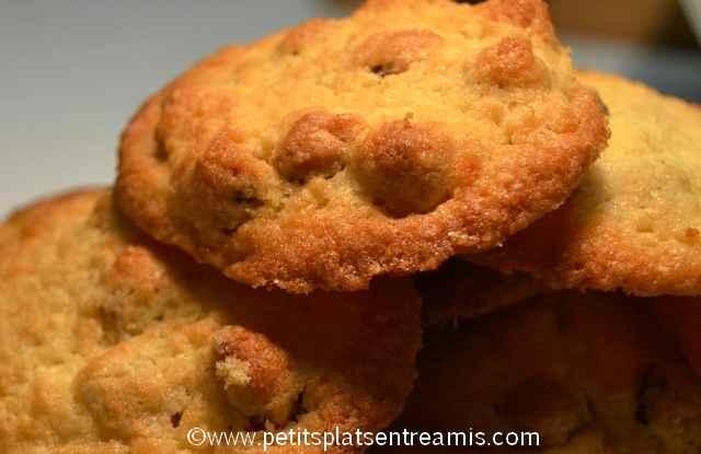 biscuits noisettes et noix de coco à la une