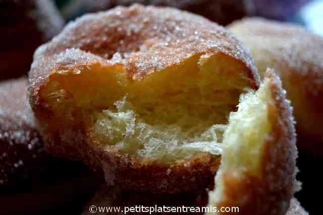 bouchée de beignet polonais