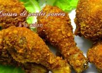 Cuisses de poulet panées à la cajun