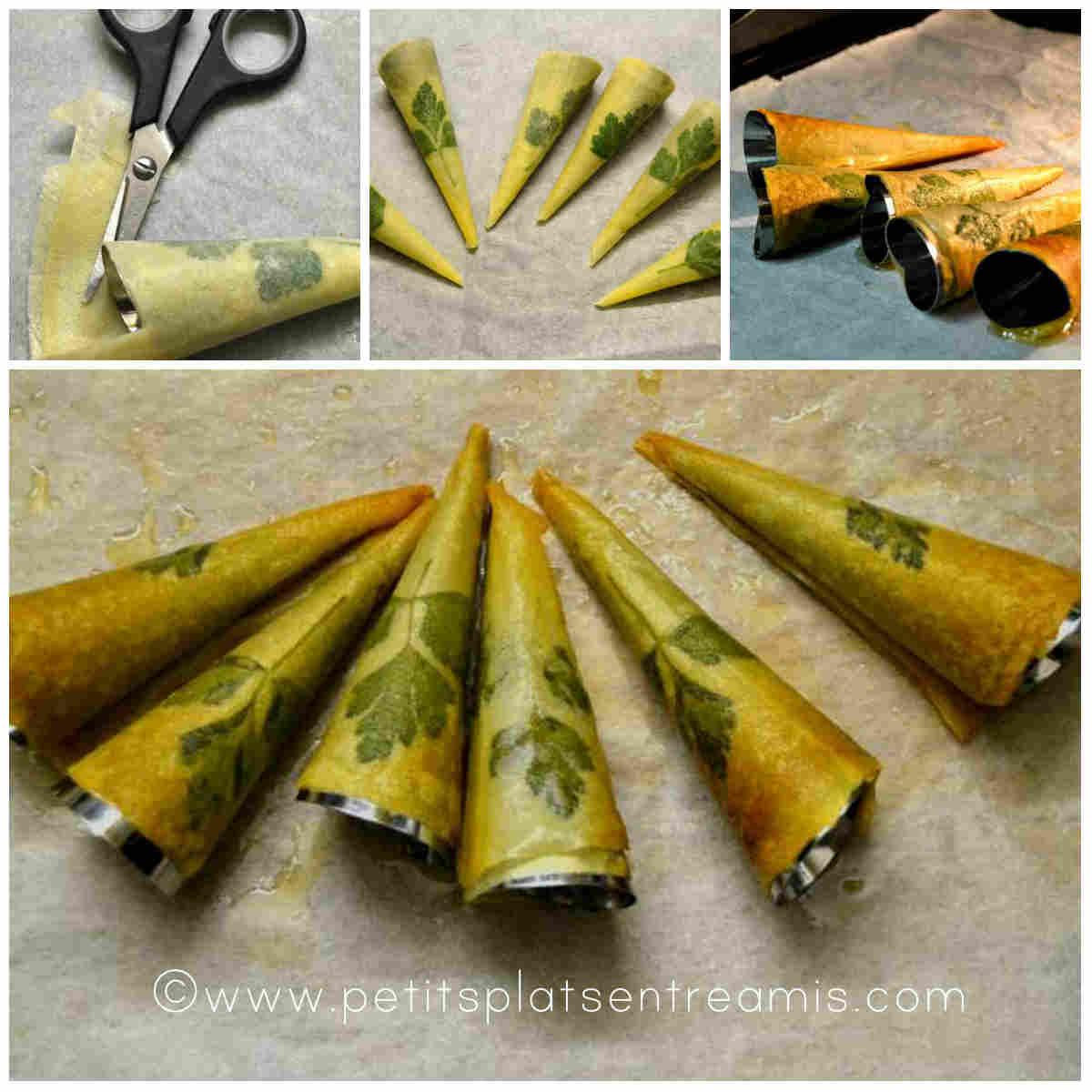 cuisson des cônes imprimés