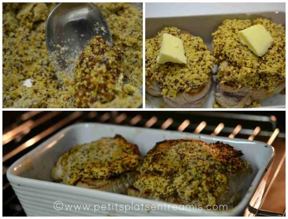 cuisson des grenadins de veau à la moutarde