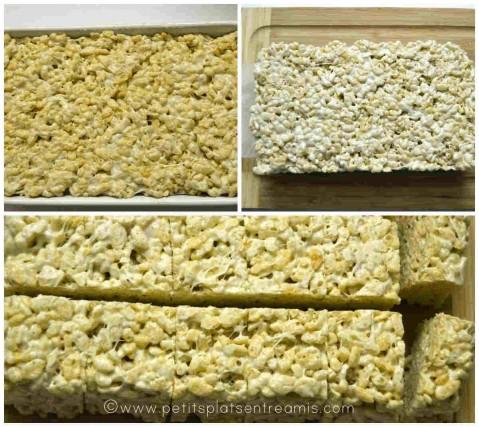 découpe des rices krispies treats