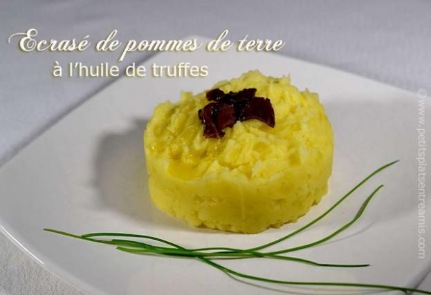 Ecrasé-de-pommes-de-terre-à-l'huile-de-truffes