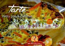 Tarte aux petits pois et carottes
