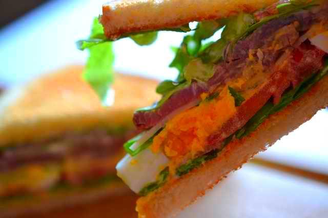 bouchée de sandwich rosbeef