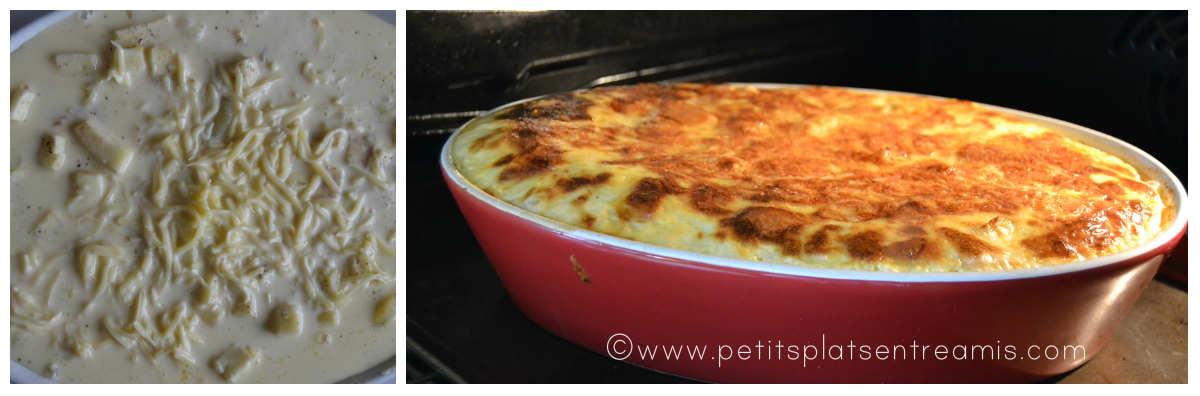 cuisson du flan de pommes de terre