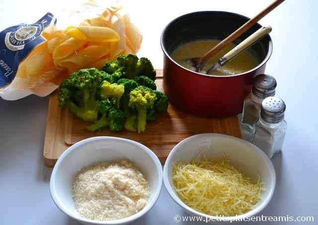 ingrédient pennoni farcis aux brocolis