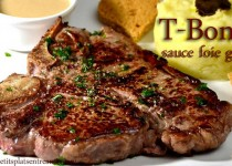 T-Bone sauce foie gras