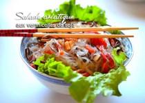 Salade asiatique aux vermicelles de soja