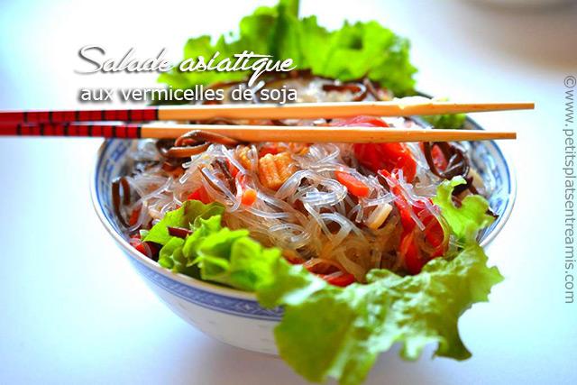 salade asiatique aux vermicelles de soja petits plats entre amis. Black Bedroom Furniture Sets. Home Design Ideas