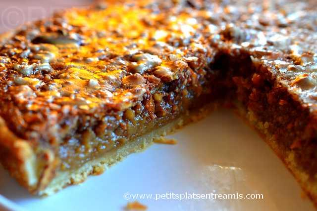 tarte aux noix de pécan à la une