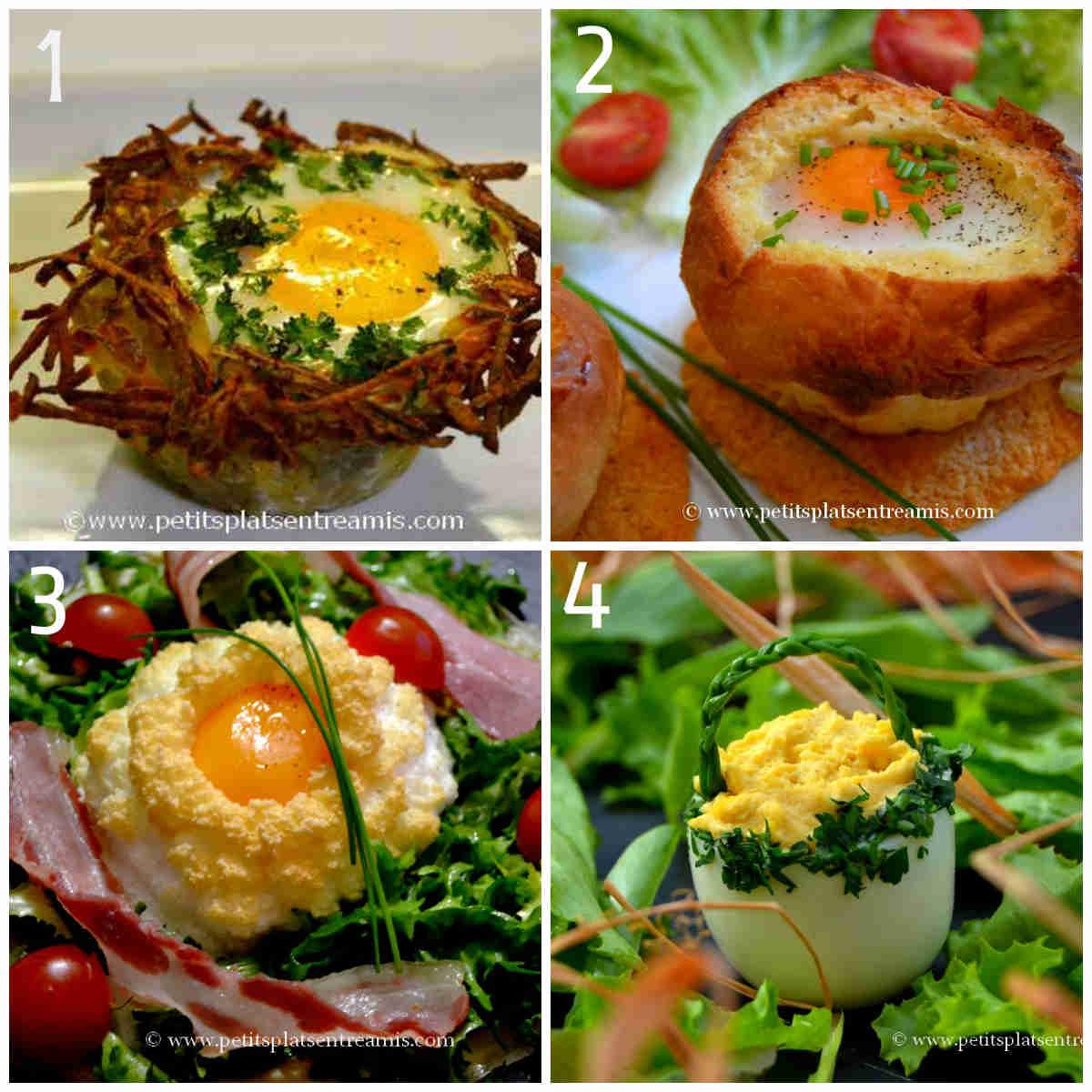 4 recettes d 39 oeufs de p ques en entr e petits plats for Entree sympa entre amis