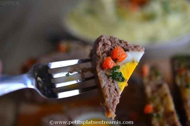bouchée de pain-de-boeuf-farci-aux-oeufs