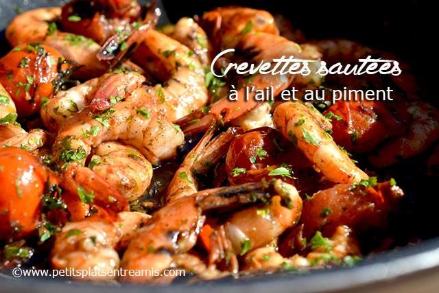 recette-crevettes-sautées-à-l'ail-et-au-piment
