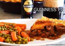 Guinness pie, tourte irlandaise au boeuf et à la bière