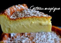 Gâteau magique, la recette