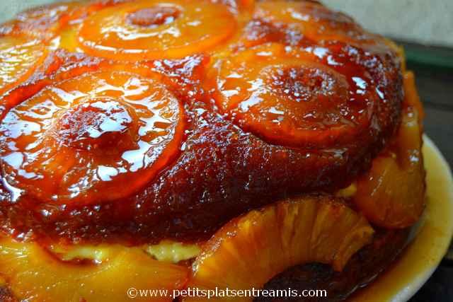 Gâteau-ananas-à-la-crème à la une